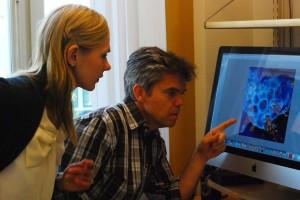 Prof Justyna Leja and Prof Magnus Essand