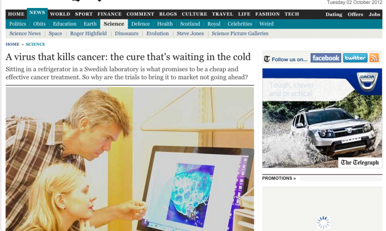 iCancer in the media